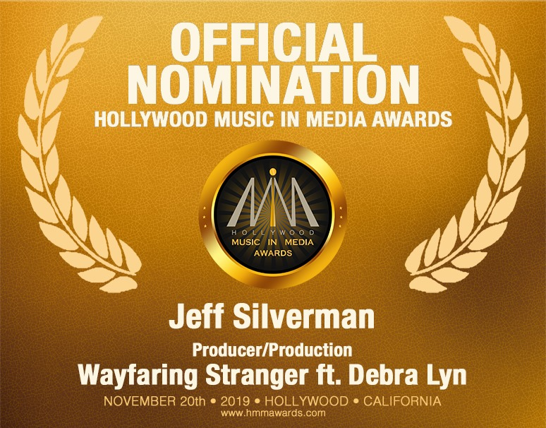 Wayfaring Stranger Receives HMMA Nomination!