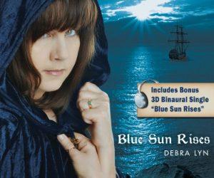 Debra Lyn, Blue Sun Rises CD Cover